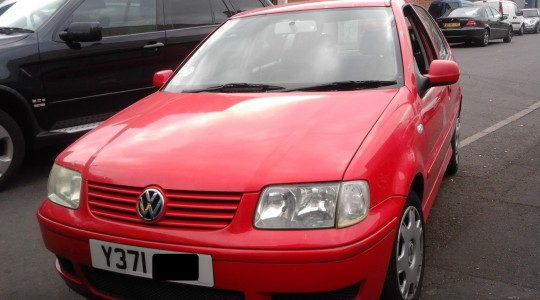 2001 VW POLO 1.4 PETROL BREAKING iii.
